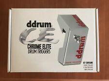 ddrum CETKIT Chrome Elite Trigger Pack - 1 Bass Drum, 1 Snare, 3 Tom Triggers