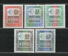s27086) ITALIA MNH** 1978 Alti Valori Ordinaria 5v