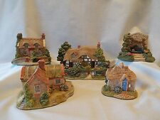 Lilliput Lane Collectors Special Club Cottages English South East set of 5