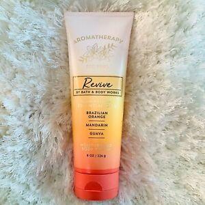 Bath & Body Works Aromatherapy REVIVE Body Cream Brazilian Orange Mandarin Guava