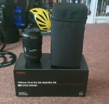 Sigma 105mm f2.8 EX DG Macro Os Canon