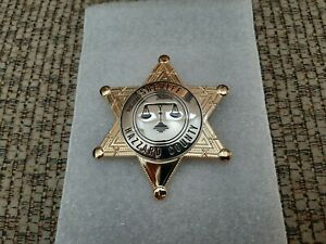 Replica Rosco---- Dukes of Hazzard TV Show----Hazzard County prop Badge