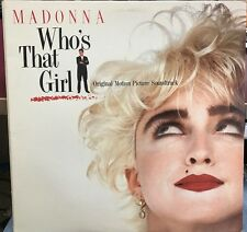 MADONNA WHO'S THAT GIRL LP SIRE 1987 25611-1