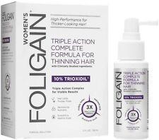 Foligain Hair Regrowth Treatment Spray for Womens with 10% Trioxidil 59ml