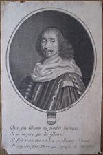 Burin de Jean Frosne, Portrait de Pomponne II de Bellièvre, milieu XVIIe
