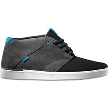 VANS Secant Grey/Charcoal/Light Blue Mid Top Suede MEN'S 6.5 WOMEN'S 8