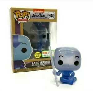 Funko Pop Aang Spirit Boxlunch Earth Day Exclusive Avatar figure