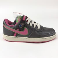 Nike Womens Vandal Low Dark Cinder Retro Shoes Size 9.5 Strap Retro 312492-261