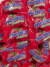 Mentos Individually Wrapped 130 pieces Bulk Wrapped Candy Mints Strawberry