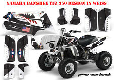 Amr racing décor Graphic Kit ATV yamaha le Hurleur yfz 350 p40-warhawk B