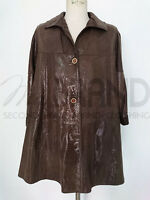 GIACCA DONNA VERA PELLE OLD LEATHER FACTORY MADE IN ITALY ART.5340