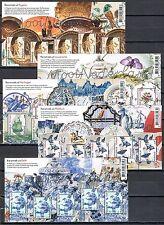 Beautiful Netherlands - Mooi Nederland 2014 5 souvenirsheets -  MNH - Perfins