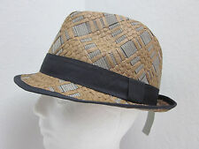 New Large Christys' Lightweight Summer Fedora Hat - Crushable - Brown