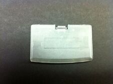 NEW TRANSPARENT CLEAR GAME BOY ADVANCE REPLACEMENT BATTERY COVER GBA
