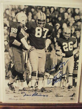 Willie Davis Dave Robinson Herb Adderley Signed Lombardi Packers Photo NFL HOF