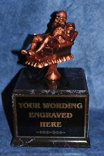 Fantasy Football 18 Yr Perpetual Trophy with Black Base. Free Engraving!