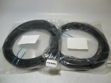 TUK (SPDL10BK) CAT6 Black 32ft Heavy Duty Durable Network Patch Cable - Lot of 2