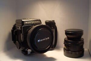 Mamiya RB67 with 127mm + 65mm Medium Format 6x7 Film Camera Plus Grip And WLF