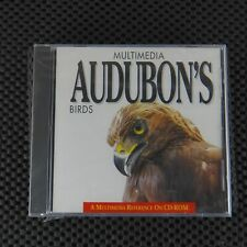 Multimedia Audubon Birds Octavo DOS Mac Reference Software Disc CD