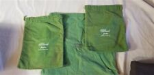 "3 VINTAGE ""C.D. PEACOCK CHICAGO""  SILVER ANTI TARNISH POUCHES / BAGS"