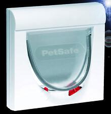 4-Wege ❤️ KATZENKLAPPE ✚ MAGNETSCHLÜSSEL ❤️ Katzentür Haustier Hunde Glas (932)