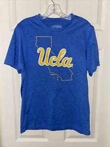 UCLA Bruins Colosseum State Outline T-Shirt SKY BLUE MENS SIZE MEDIUM NCAA