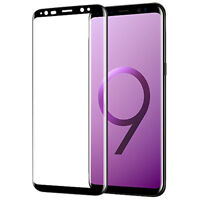 Samsung Galaxy S9 S9+ S8 S8+ Note 8 Full Cover Temper Glass Screen Protector