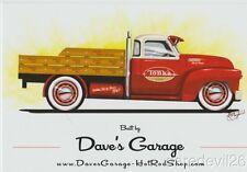 2016 Dave's Garage TONKA '47 Chevy Pickup Truck SEMA Show Promo info card