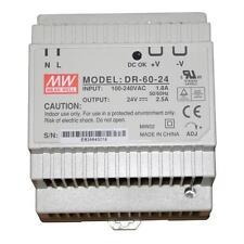 Din-Rail Alimentation 60W 24V 2,5A ; MeanWell, DR-60-24