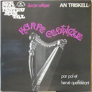 AN TRISKELL Harpe Celtique LP Celtic Folk ala Alan Stivell—on Le Chant du Monde