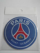paris saint germain -  badge embroidery - new - sew or iron - france - PSG