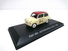FIAT 600 Auto Ecole  UCCI 1955 -1/43 CAMION PUBLICITAIRE ITALIEN MINIATURE -000