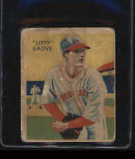 1934-36 DIAMOND STARS #1 LEFTY GROVE HOF GOOD J4274