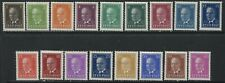 Estonia 1936-40 complete definitive set mint o.g. hinged