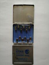 Vintage Everett Star Stainless Steel Hypodermic Needles X 2 FULL tins