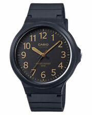 Casio Resin Band Plastic Case Wristwatches