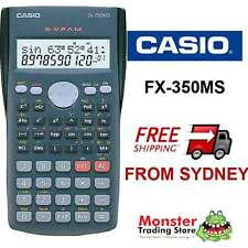 AUSTRALIAN SELER CASIO SCIENTIFIC CALCULATOR FX-350 FX350 FX350MS 12 MTH WARANTY