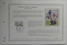 Document Artistique DAP 528 1er jour 1982 Coupe du Monde de Football Espagne