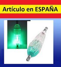 luz AZUL led VERDE PESCA boya flotante luces waterproof sumergible caña boya