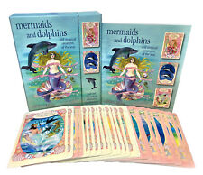 Mermaids And Dolphin And Magical Creatures of the Seas Cards Deck Box Gift Set