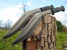 2 piezas muy macizas machete 46cm huntingknife machette coltello couteau m007 ot