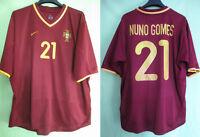 Maillot Portugal Nuno Gomes 2000 Football Shirt Vintage Nike #21 - XL