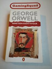 Nineteen Eighty Four 1984 George Orwell PB Book, Supplied by Gaming Squad
