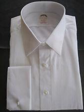 NWOT Brooks Brothers Golden Fleece White Formal Shirt 17-36 Madison MSRP $225