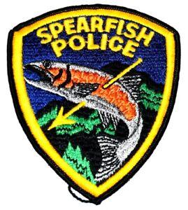 SPEARFISH SOUTH DAKOTA SD Sheriff Police Patch AA24
