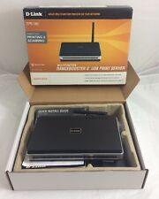 D-Link WBR-2310 Multifunction Rangebooster USB Print Server