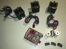 CNC Shield GRBL Nema17 2.0A 4500g.cm Schrittmotor Wellenkupplung Arduino Robotik