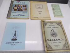 Lot of Clockmaker Indentification Guide Books E Howard Tran Duy Ly Ehrhardt F257