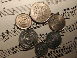 NEPAL 2031 1974 King Birendra 6-coin Coronation Set 1-yr types TOP GRADE - RARE!