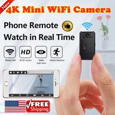 Mini IP Cam Wireless Wifi Home Security Camera HD 4K DVR Night Vision Hidden